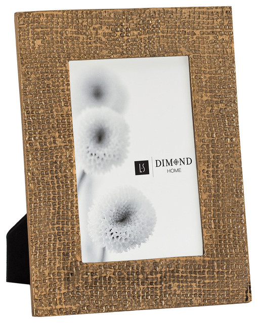 Dimond Home Small Ripple Texture Photo Frame