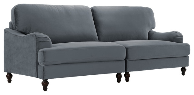 Classic Convertible Sofa 2 Piece Adjustable Couch In