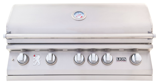 "Lion Premium Grills L90000 40"" Gas Grill, Natural Gas."
