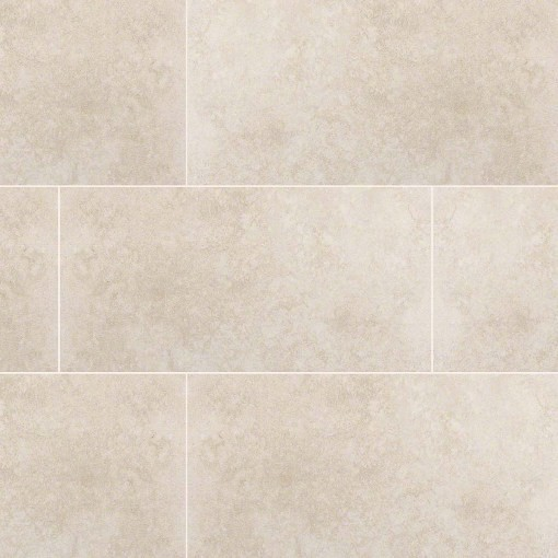 Glazed Travertino Beige Porcelain Tile Transitional