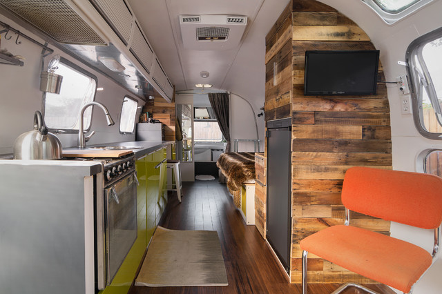 New Life and Style for a 1976 Airstream - My Houzz