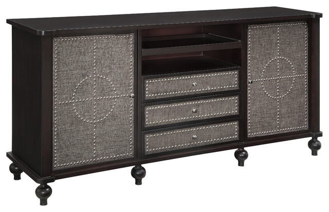 Harrison Tv Cabinet - Traditional - Entertainment Centers And Tv Stands - by Crestview Collection