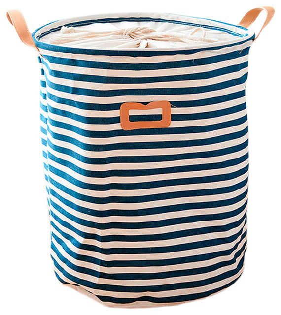 Pretty Laundry Basket, Rural Folding Storage Organizer Household, 43x34 Cm.