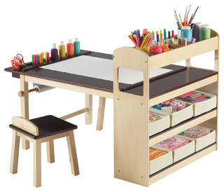 High Quality Guidecraft   Deluxe Art Center   Kids Tables And Chairs