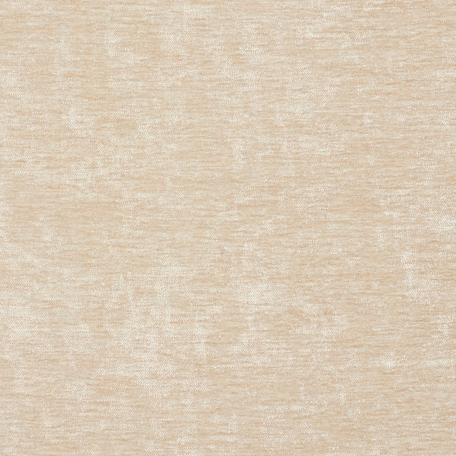 Cream Solid Woven Velvet Upholstery Fabric By The Yard