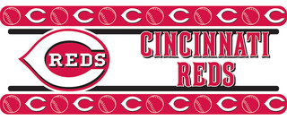 Sports Coverage Mlb Cincinnati Reds Wall Border Self