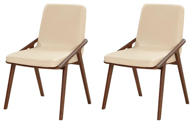 Veneto Ash Dining Chairs, Set of 2