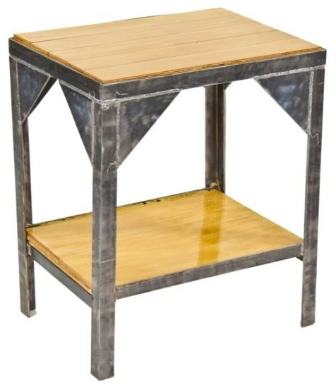 Industrial tables eclectic furniture chicago by for Eclectic furniture