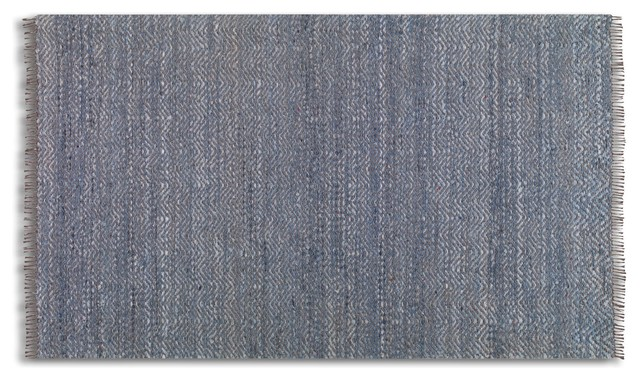 Cascadia Denim Rug Contemporary Area Rugs By Uttermost