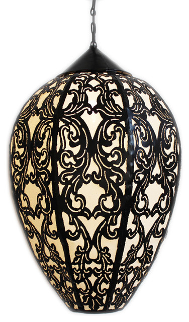 Metal Work Large Tulip Lantern