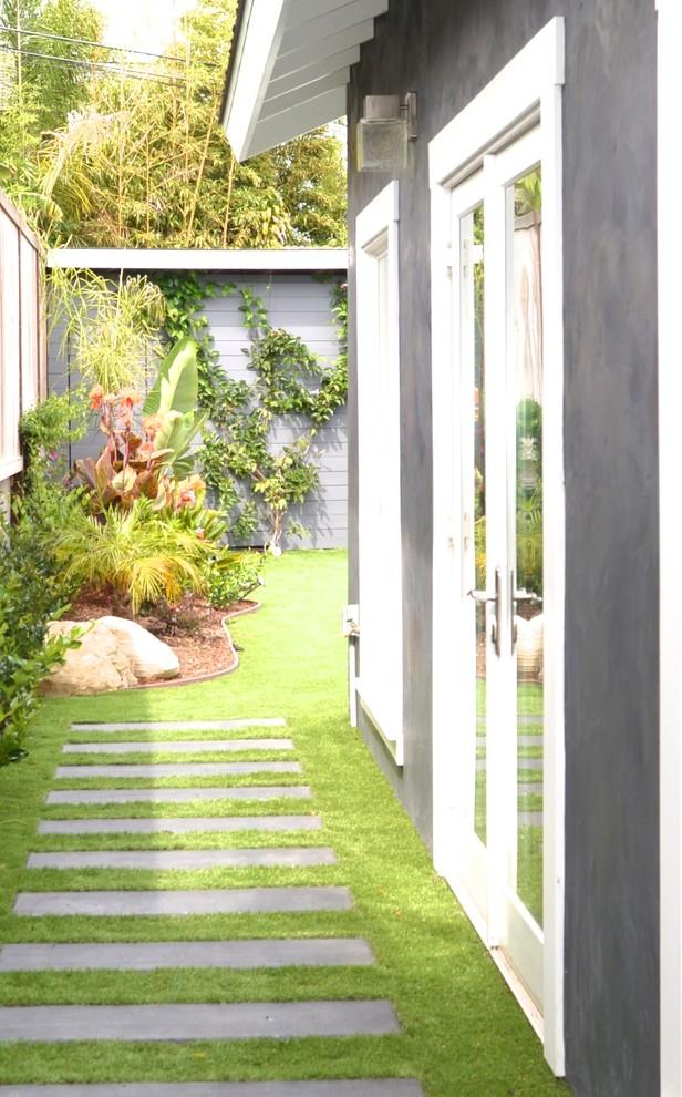 Backyard sideyard