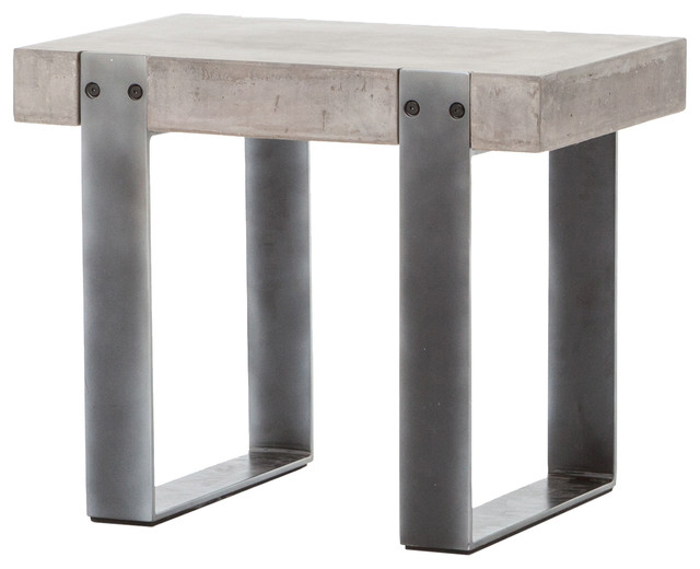 Mercury Side Table Industrial Side Tables And End Tables