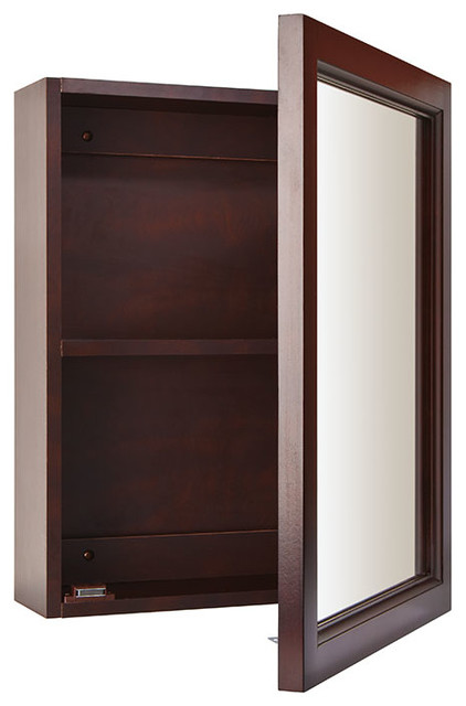 modern medicine cabinets 15 quot x19 quot surface mount espresso medicine cabinet 23560