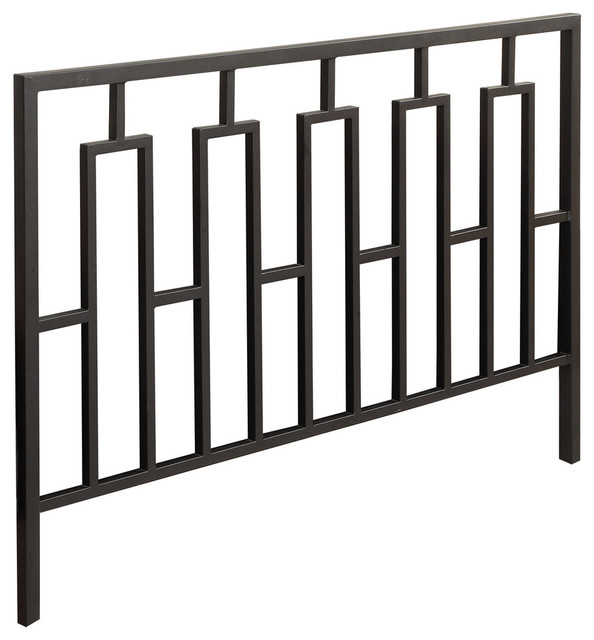 Bed, Queen Or Full Size , Black Head Or Footboard.