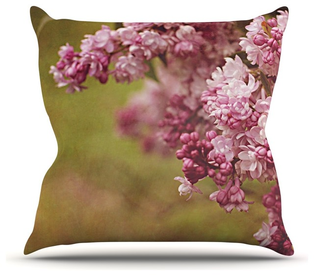 Angie Turner quotLilacsquot Pink Flower Throw Pillow  : contemporary decorative pillows from www.houzz.com size 640 x 562 jpeg 65kB