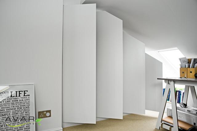 Loft Bedroom Wardrobe Contemporary Other