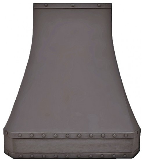 Rustic Range Hoods ~ Mason copper range hood rustic hoods and vents