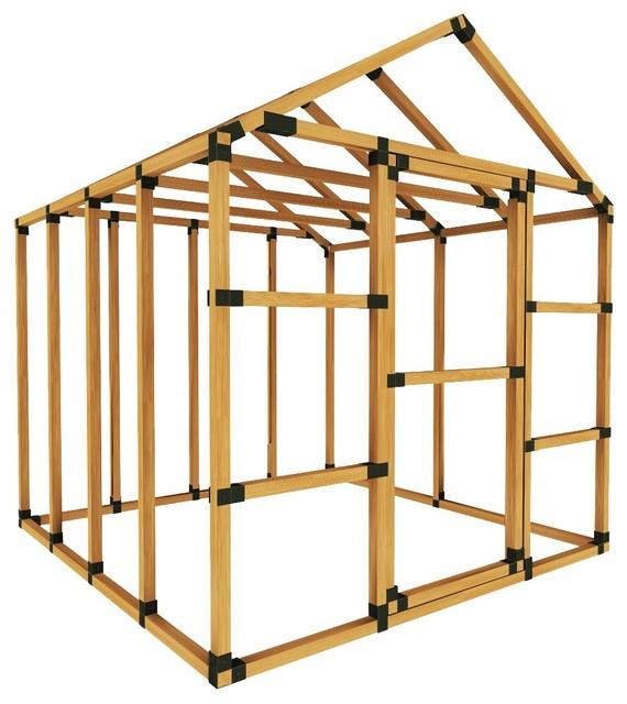 8x8 Basic Greenhouse Kit