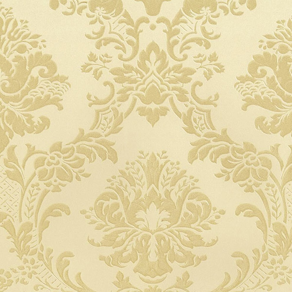 Silk Impressions 2 Contemporary Floral Wallpaper Traditional