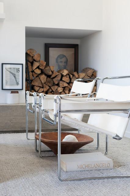 Home design - contemporary home design idea in New York