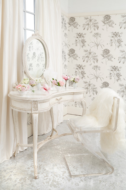 Delphine French Shabby Chic Dressing Table