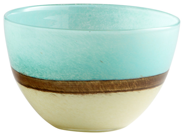 Cyan Design Small Turquoise Earth Vase, Blue
