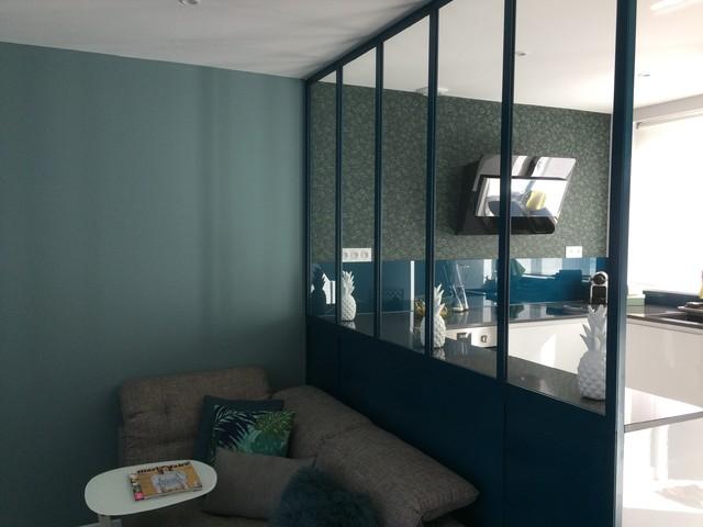 Idée de décoration pour une maison minimaliste.