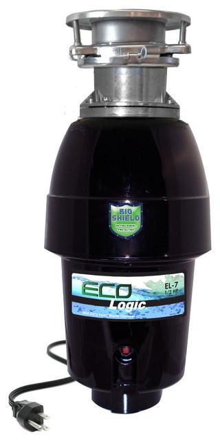 Eco-Logic 7 Mid-Duty 1/2 Hp Food Waste Disposer.