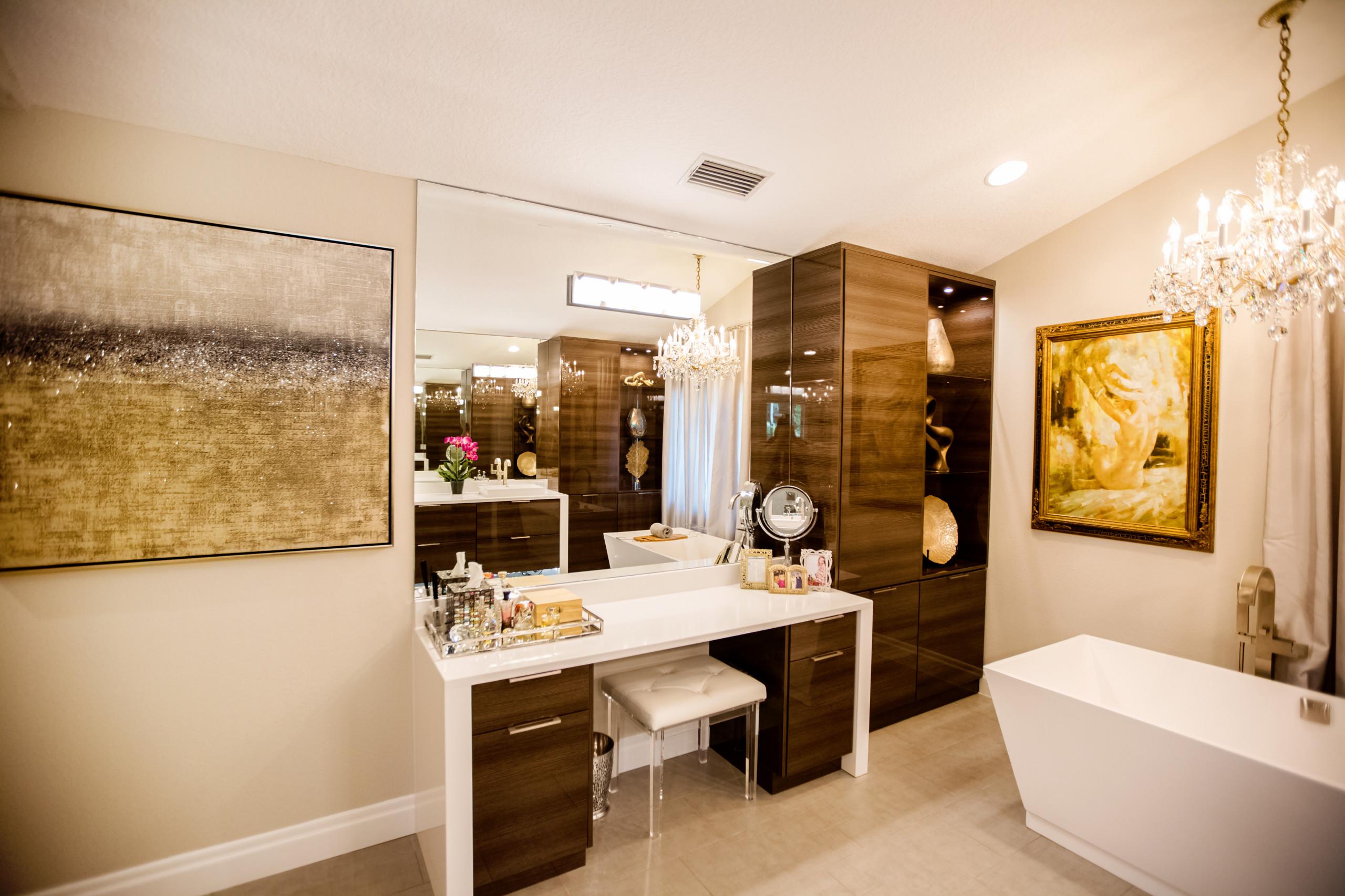 Modern Flair Master Bath