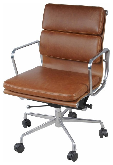 Campbell Office Chair, Brown.