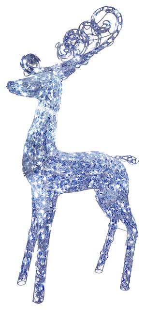 60 Reindeer Decoration With Led Lights