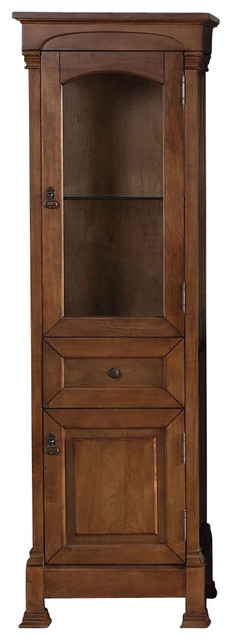 Brookfield Linen Cabinet - Traditional - Bathroom Cabinets - by Corbel Universe