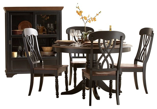 Homelegance Ohana 6 Piece Round Dining Table Set Traditional Sets By Warehouse Direct Usa