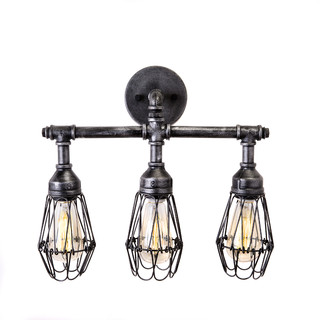 houzz bathroom vanity lighting admiral 3 bulb bathroom fixture industrial bathroom 18771