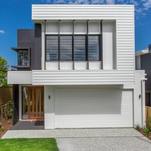 Modern Home Facades Light And Airy Or Dark And Elegant