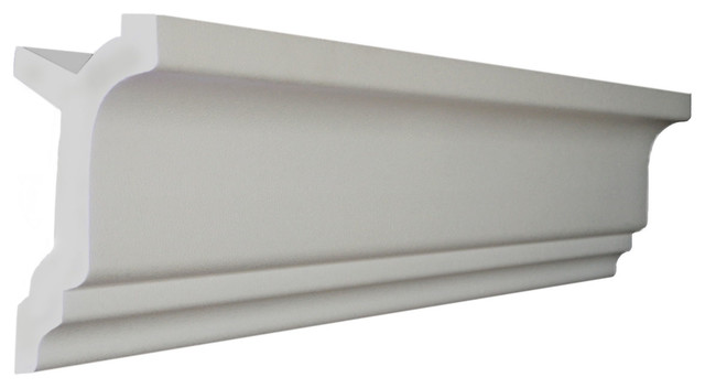 "48&x27; Of 3.5"" Style 2 Foam Crown Molding 8&x27; With Precut Corners (4 In And 1 Out)."