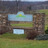 Highland Ranch development sign