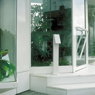hs i bollard minimalistisch au enleuchten von. Black Bedroom Furniture Sets. Home Design Ideas