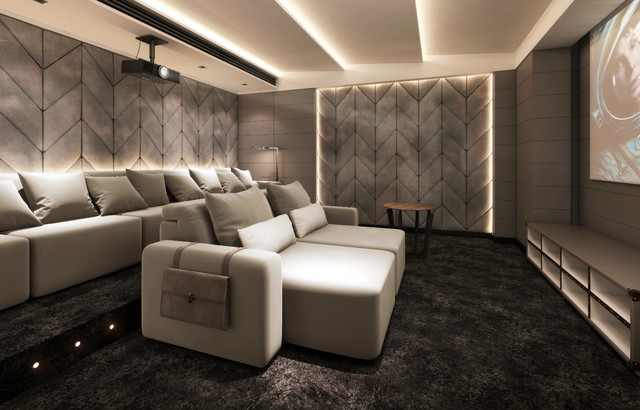 Best Modern Home Theater Ideas Decoration Pictures Houzz