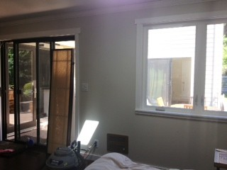 What Curtain Length For Smaller Window Next To Sliding Door?