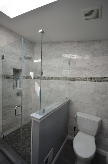 Bathroom Remodeling Falls Church Va Contemporary Bathroom Other By Ideal Construction