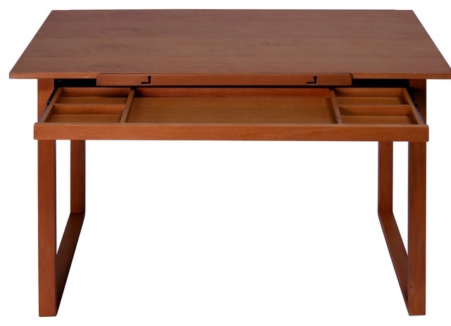 Ponderosa Wood Topped Table.