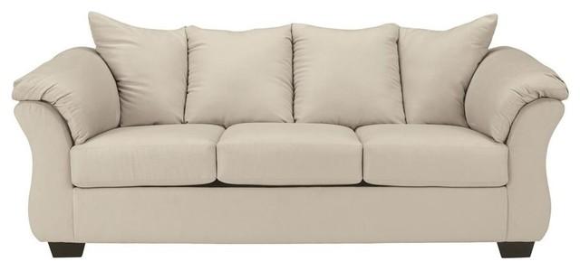 Flash Furniture Signature Design By Ashley Darcy Sofa, Stone Fabric  Contemporary Sofas