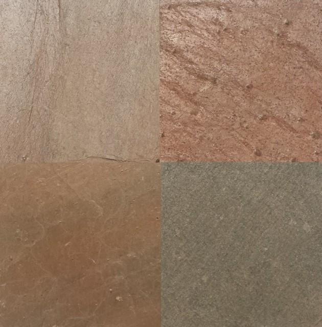 Copper Slate Tiles Natural Cleft Face Back Finish
