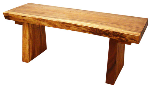 All Natural Sitting Bench, Oak