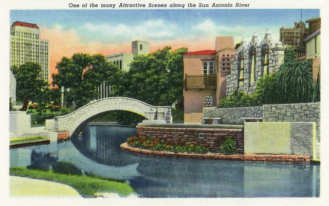 Quot Scenic View Along The San Antonio River Quot Print