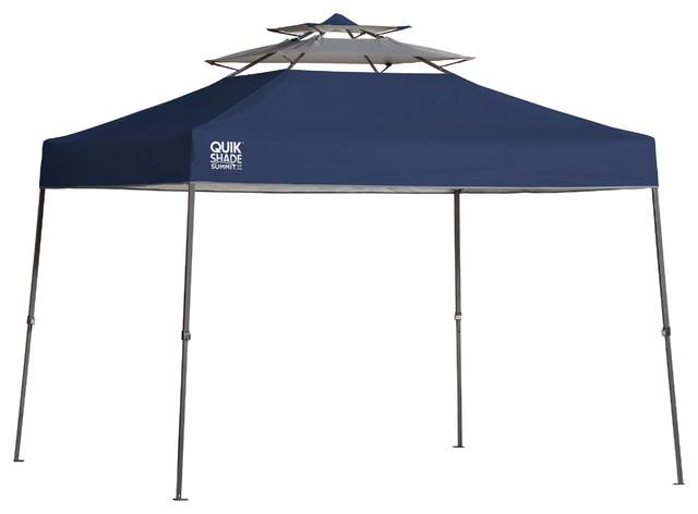 Summit Sx100 10&x27;x10&x27; Straight Leg Canopy, Blue.