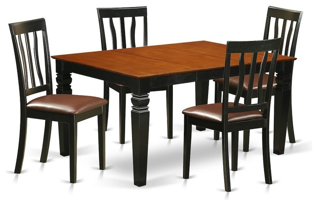 Chair Set For Table And 4 Dining Chairs