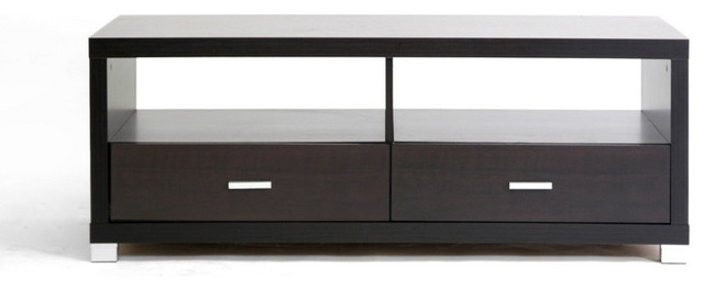 Baxton Studio Derwent Coffee Table With Drawers.