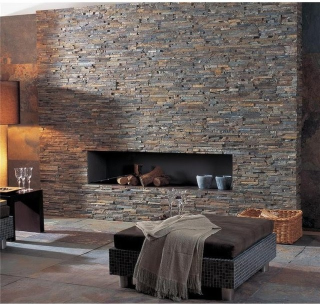 stacked stone fireplace ledger panel stacked wall and fireplaces 10050